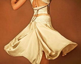 Flow skirt, artistique fashion by Tangolace