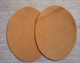 Elbow or knee caramel color 2 / 10.5 x 8 cm