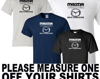mazda driver t shirt all sizes upto 5xl