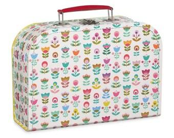 Pattern garden MiniLabo cardboard suitcase
