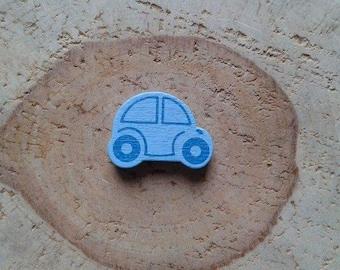 Pearl blue car