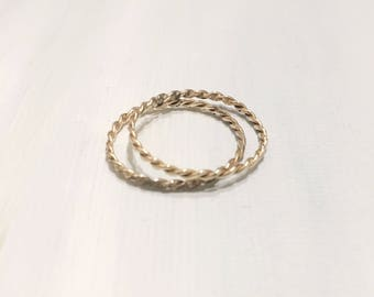Stackable Twist Rings