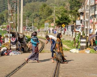 Street image in Haputale, Sri Lanka, photography