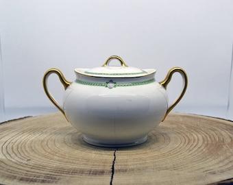 Porcelain Sugar Bowl-Porcelaine sugar pot