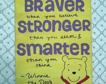Winnie the Pooh Disney inspired Canvas Painting