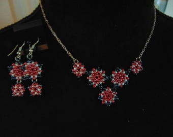 Star Necklace and Earrings