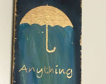 Mary Poppins Wood Pallet Sign