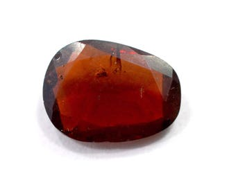 Garnet Natural Pyrope Garnet Both side Faceted Polki 4.60 cts. 10x14 mm From Mozambique 4062