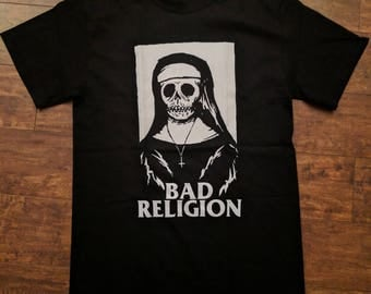 Bad religion skull nun tshirt