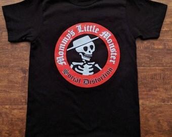 Kids †Social Distortion†† Mommy's Little Monster†  Tshirt