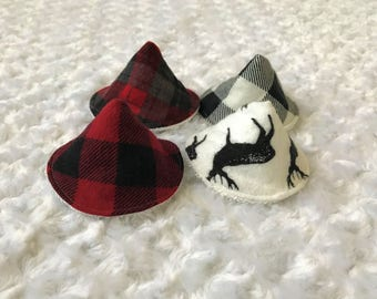 Lumberjack Peepee Tents; Peepee teepees; wee wee tent; sprinkle covers; sprinkle tents; wee wee teepee; baby stocking stuffer