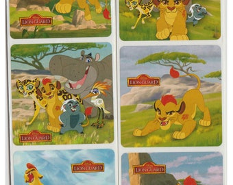 "30 Lion Guard Stickers, 2.5"" x 2.5"" Each"