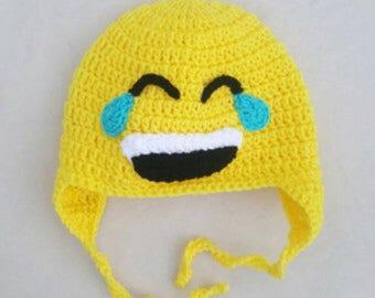 Emoji hat aged 2-5