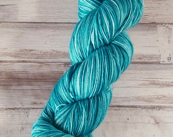 On Stranger Tides | Fingering Sock Yarn | Superwash Merino Wool/Nylon | Handpainted Yarn