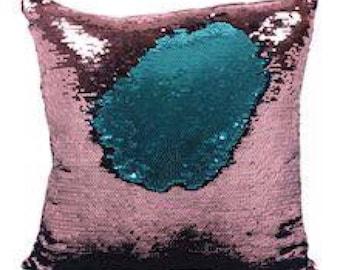 Unicorn Reversible Sequin Cushion