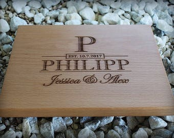 Personalized Cutting Board - Engraved Cutting Board, Custom Cutting Board, Christmas Gift, Wedding Gift, Housewarming Gift, Anniversary Gift