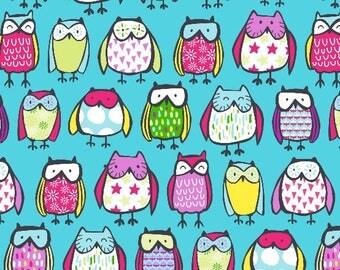 No sew Owl blanket