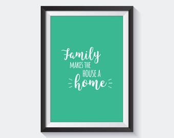 Family Quote Frame