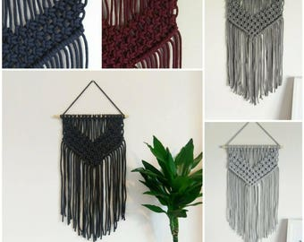 Chunky macrame wall hanging various colours available