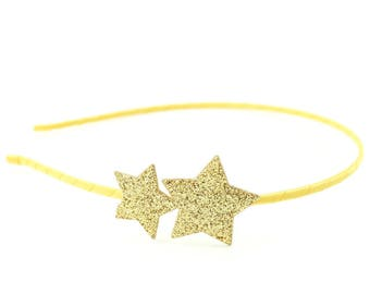 Star headband hair accessory - glitter