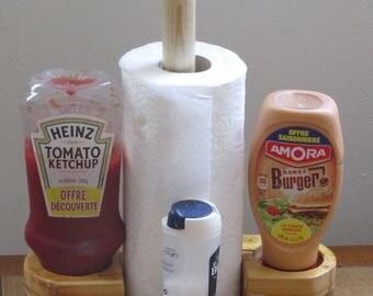 4 in 1 Door towel + door sauce + salt and pepper