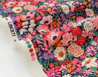 Fabric Liberty of London TANA LAWN - Collection eternal Japan Thorpe multicolor x 50cm