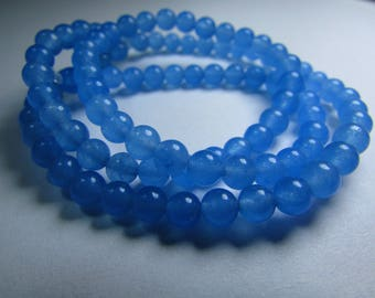 Set of 10 Jade 4 mm beads
