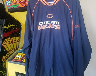 Chicago Bears Rebok pull over embroidered
