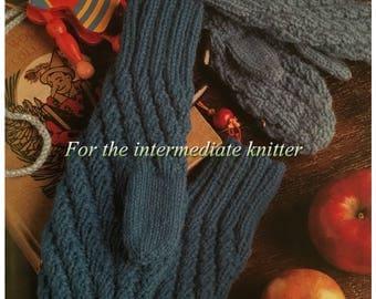 PDF Knit Spiral Rib Mittens