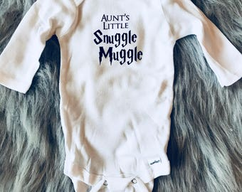 Aunt's Little Snuggle Muggle Onesie