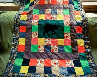 Bear Toddler Quilt