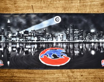 Custom Chicago Cubs Banner