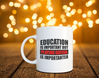 Education is Important Coffee Mug / Cup