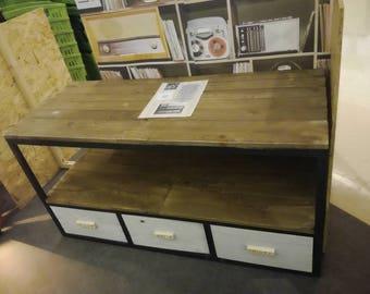 meuble tv vintage - Comment Fabriquer Un Meuble En Palette