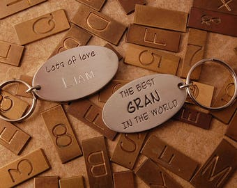 The best GRAN in the world personalised keyring