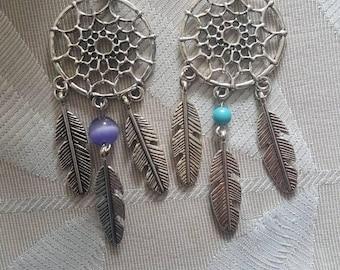 Dream catcher necklace/keyring