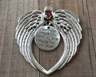 Mother in law gift etsy mother in law ornament mother in law gift mother in law angel mother negle Image collections