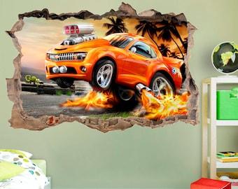 Hot Wheels Wall Stickers. Super Mario Bedroom Decor Super Mario Bros ...