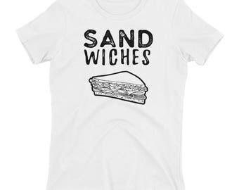 We Finish Each Other's Sandwiches Women's T-shirt // Couple T Shirt // Perfect Match Shirt // Lovers Tee // Disney Frozen Shirt