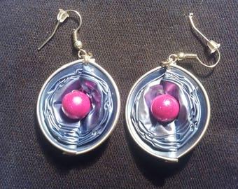 coffee capsule earrings