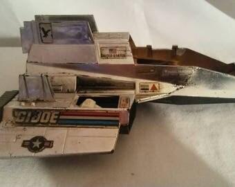Vintage 1984 Gi Joe Cobra Sky Patrol Sharc Plane Hasbro