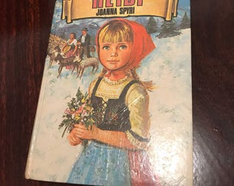 Heidi by Joanna Spyri book 60s