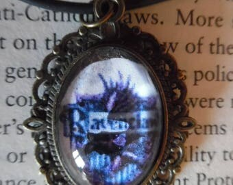Ravenclaw Harry Potter Cabochon Necklace