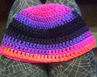 Colorful Little girl hat