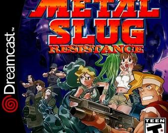Metal Slug Resistance Custom Sega Dreamcast Video Game