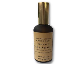 Organic 100% Pure Argan Oil 100 ml