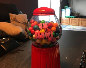 Personalized gumball bank
