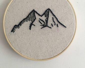 Sierra Embroidered Wooden Frame