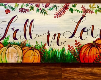 Fall In Love Painting