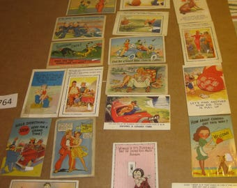 Assortment of Unposted Humorous Postcards   [c4764o]